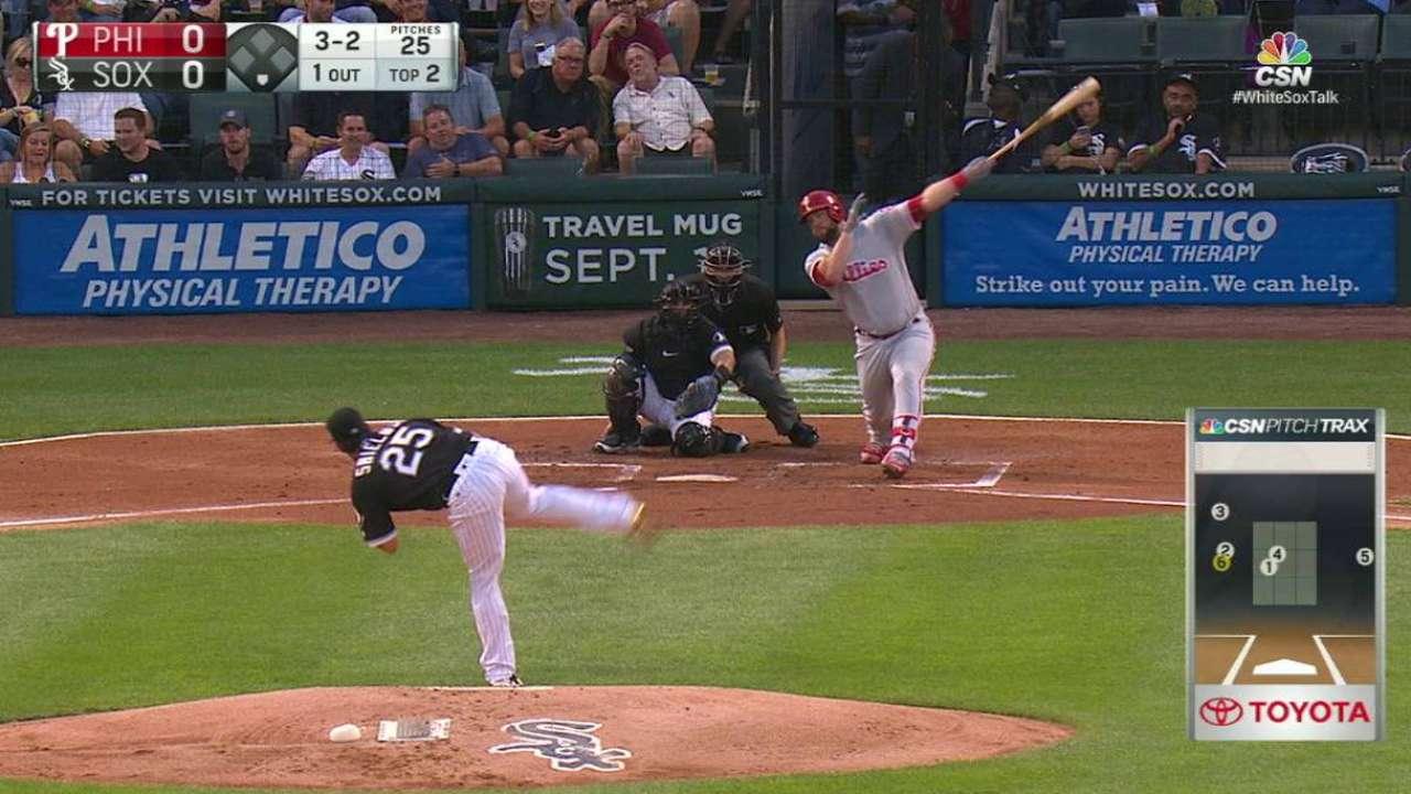 Home runs continue haunting veteran Shields