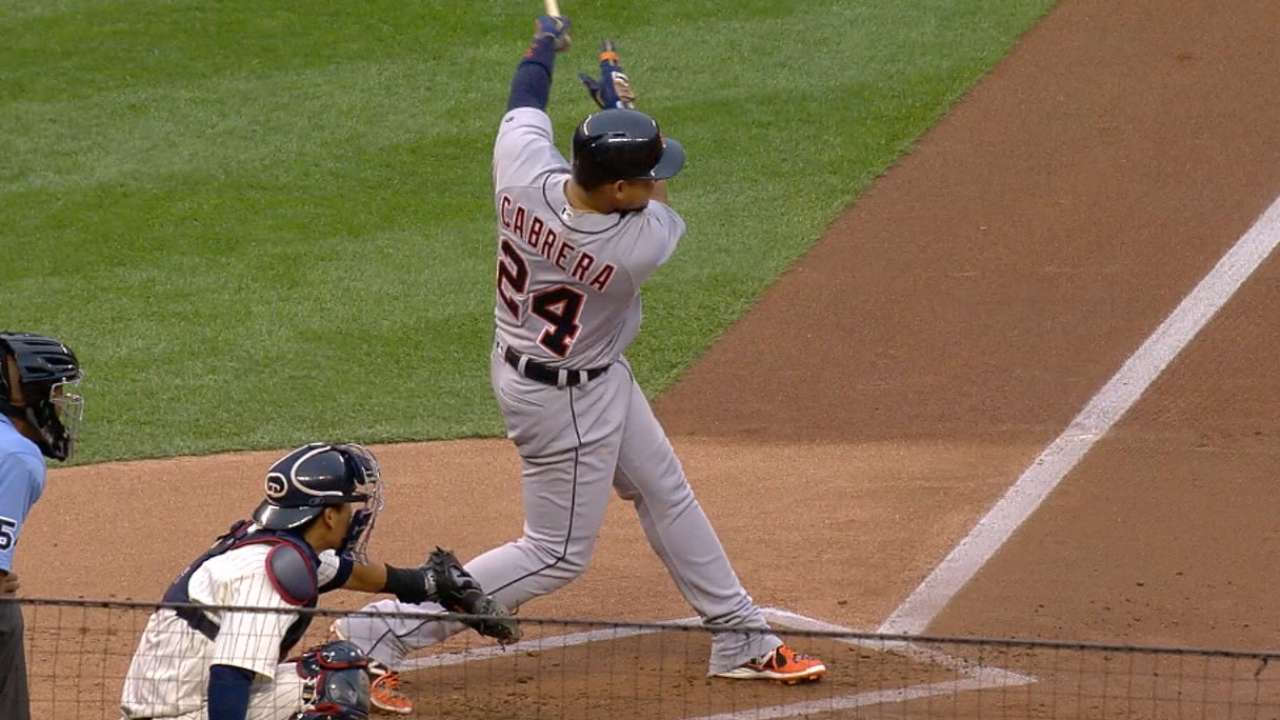 Miggy's four-hit game