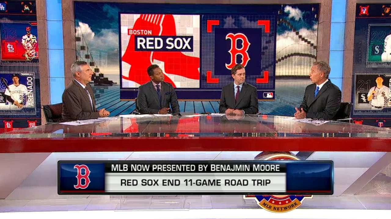 MLB Now on Red Sox road trip