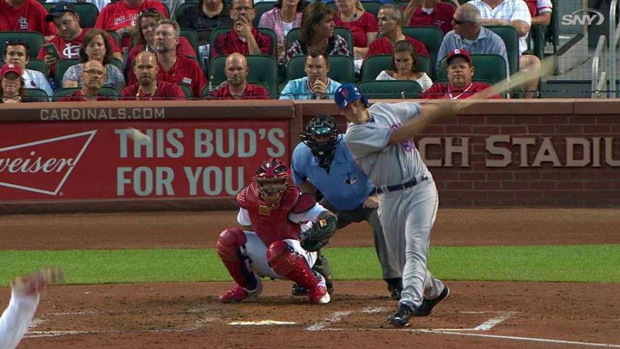 Lugo's first MLB hit