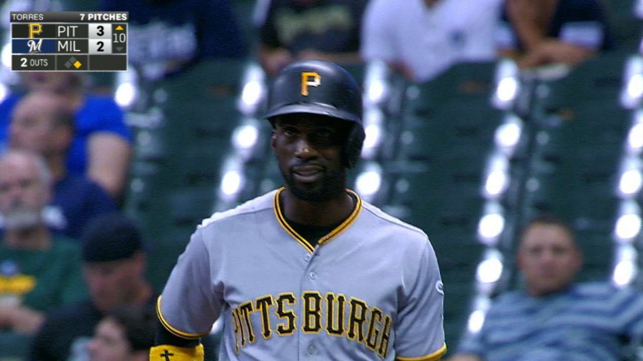 Pirates' playoff run receiving boost from Cutch