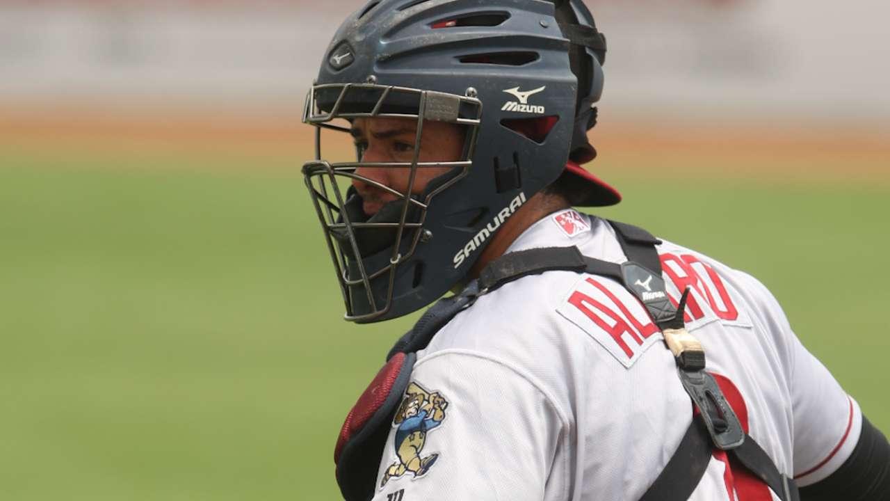 Rookie catcher Alfaro joins Phillies in New York
