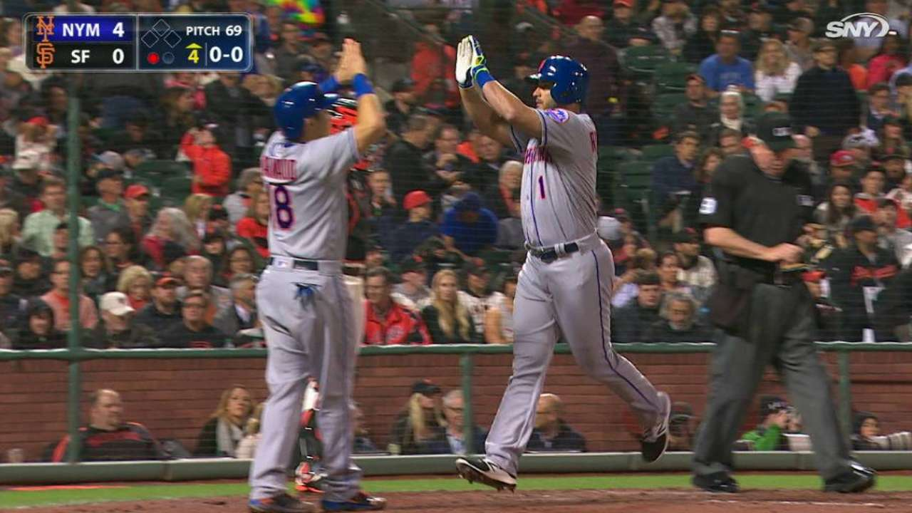 Ruggiano returns to Mets in grand fashion