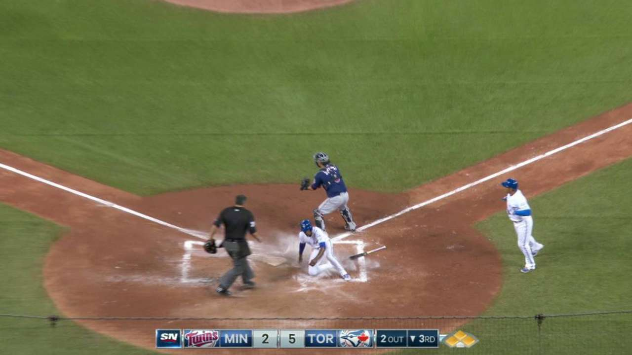 Smoak's RBI single