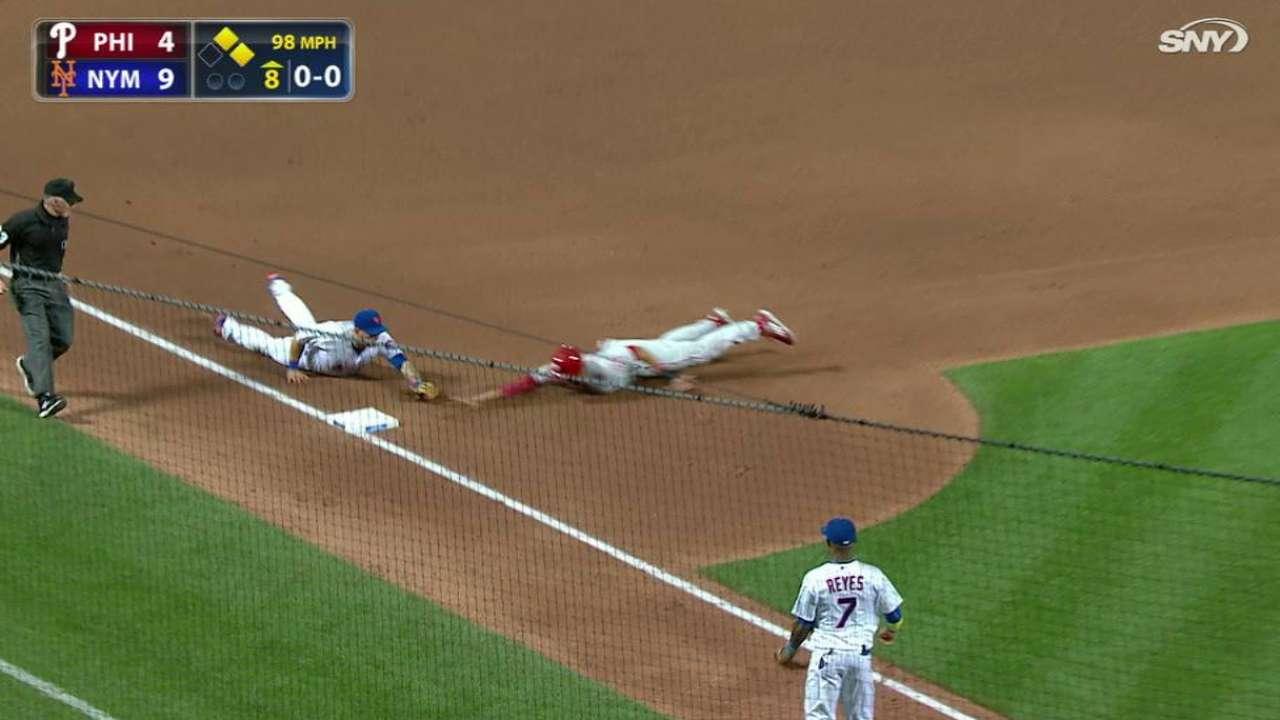Cabrera's heads-up defense