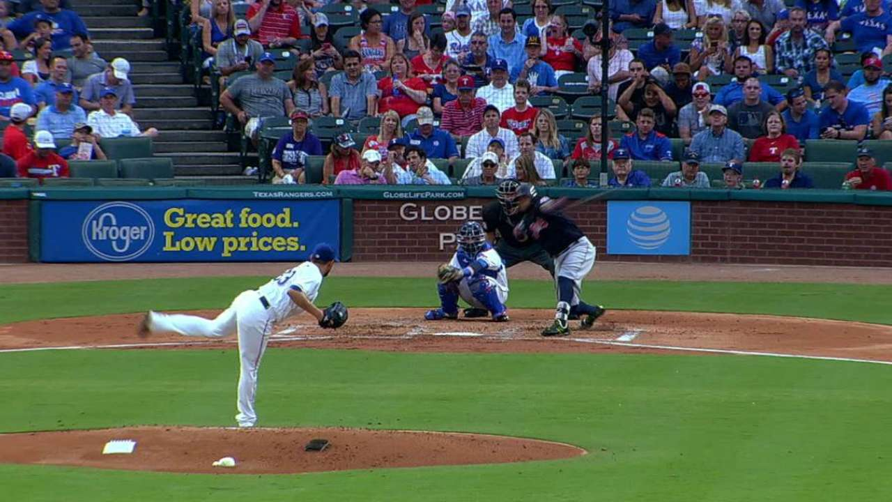 Perez lacking put-away pitch against Indians
