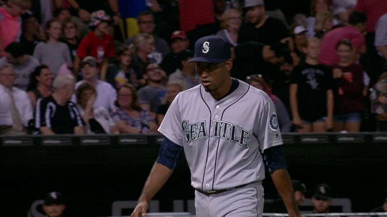 Diaz leaves the bases loaded
