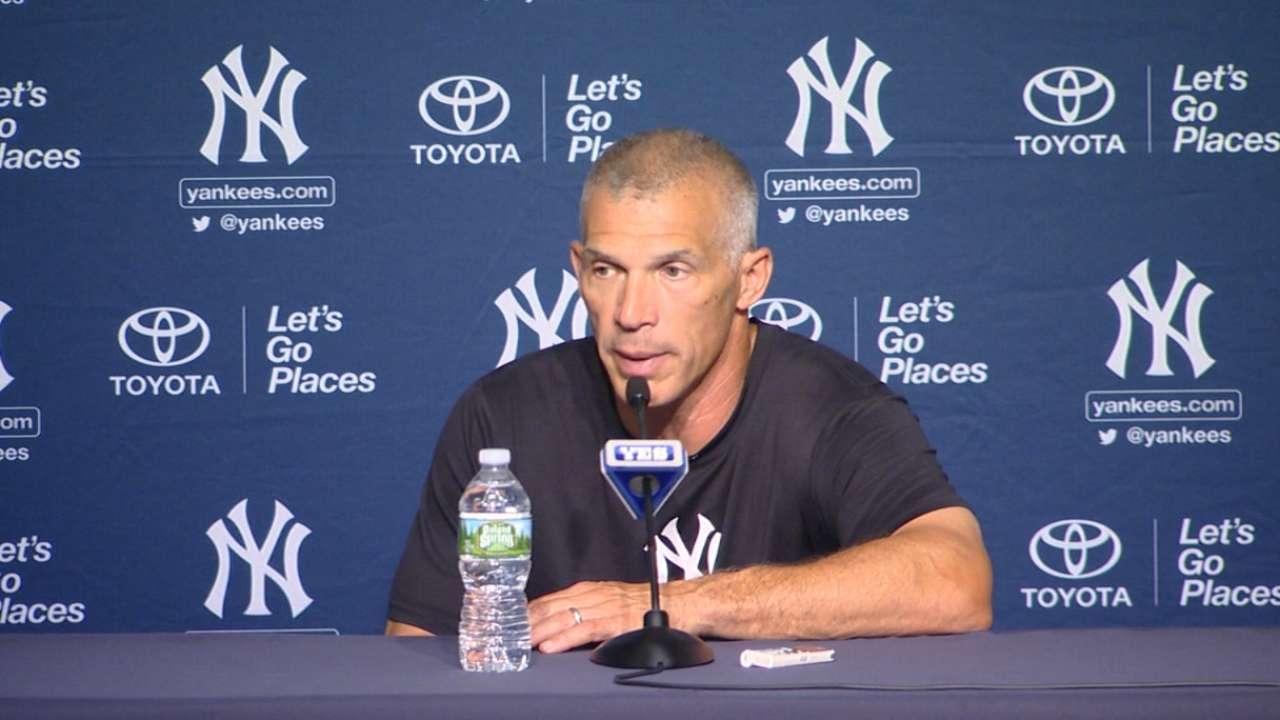 Girardi on Yankees' blowout win