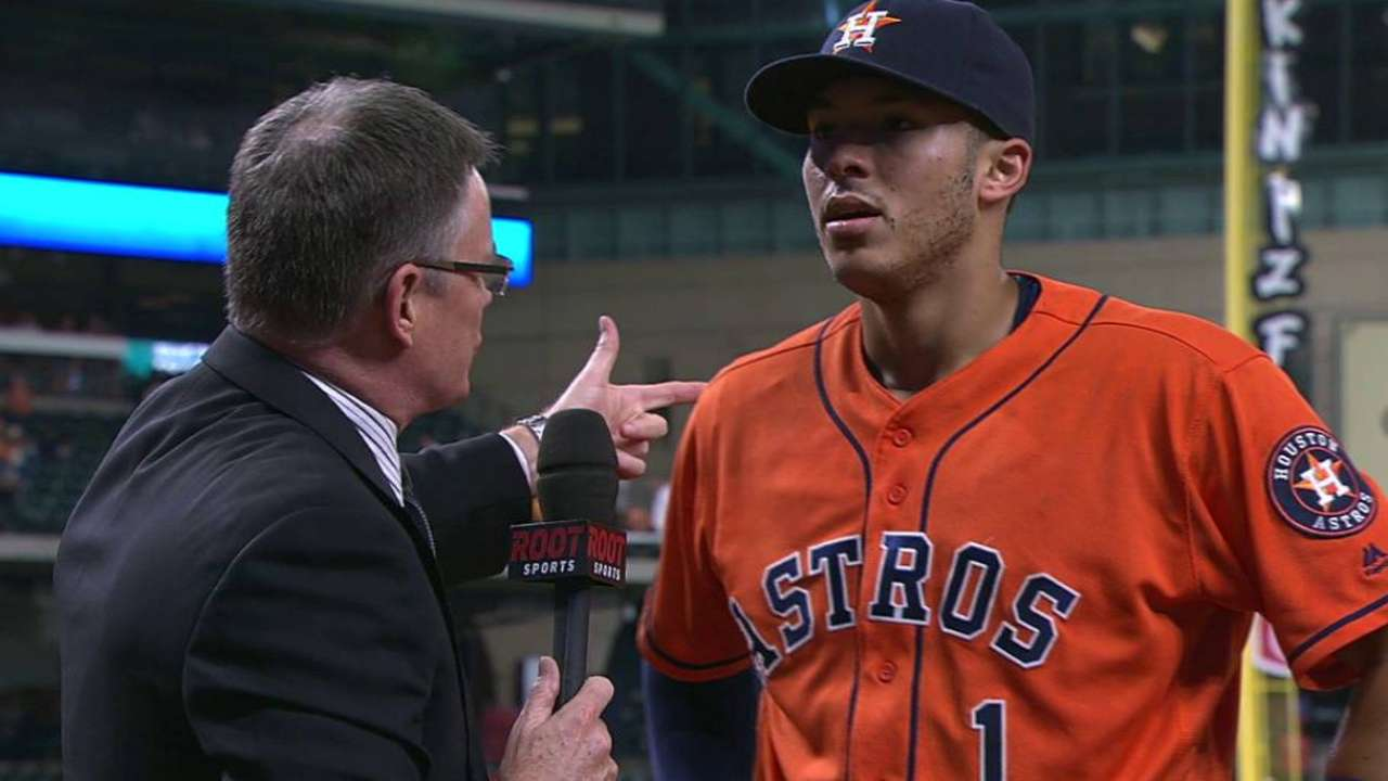 Astros go Wild with emotional comeback win