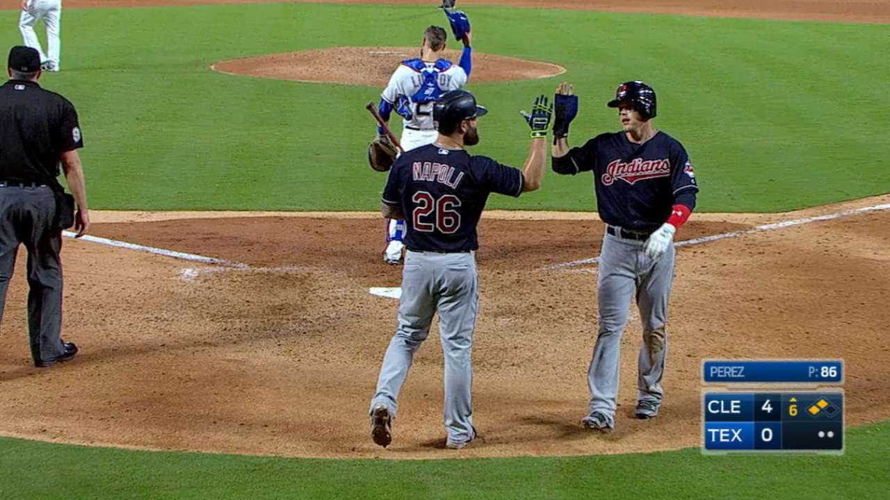 Indians end funk with furious 17-hit attack