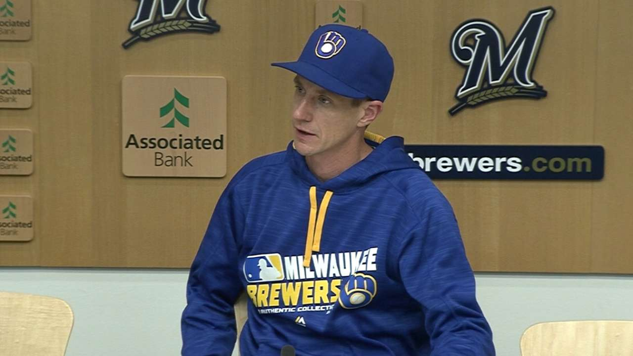 Counsell on Brewers loss