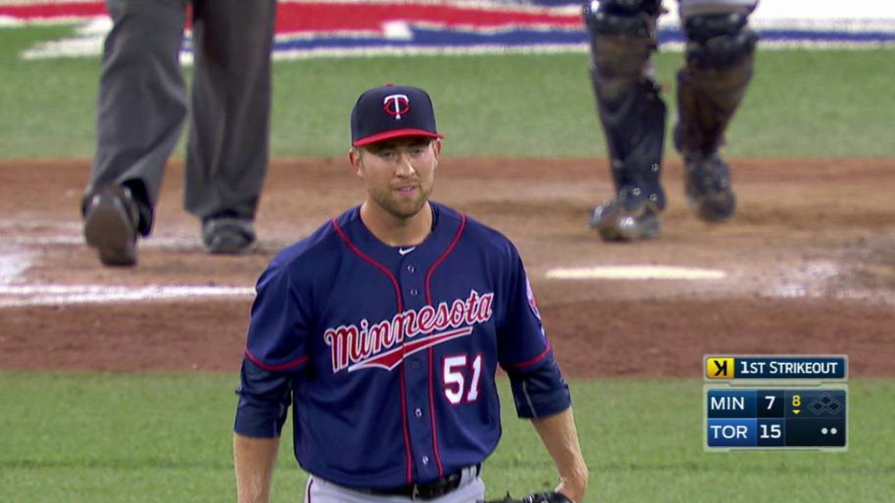 Twins outright Wimmers, reinstate 3 from DL