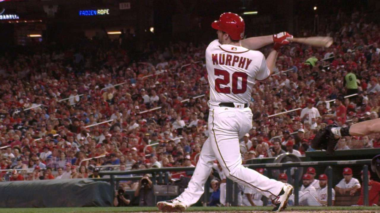 Murphy finishes 2nd in NL MVP voting