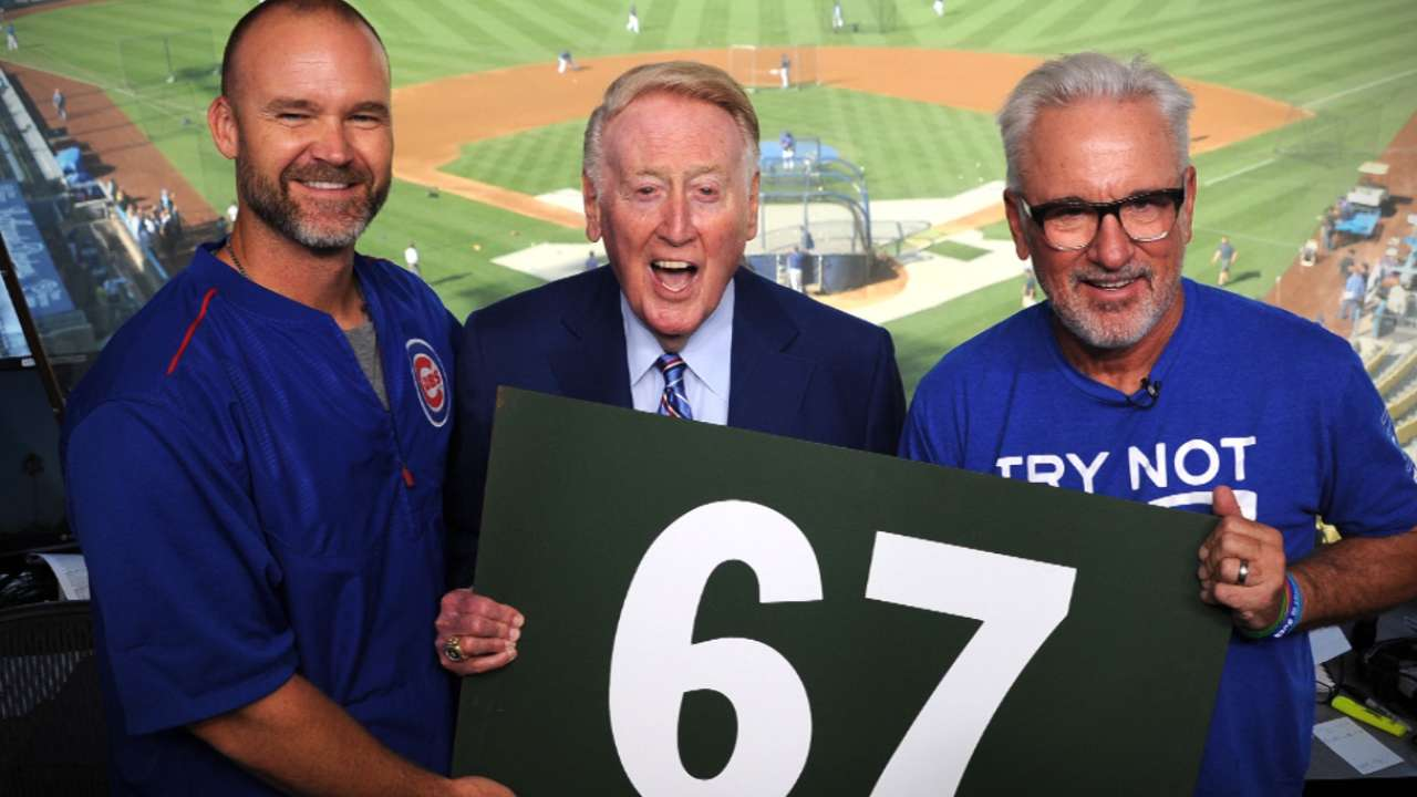 Ross, Maddon enjoy Scully's company in LA