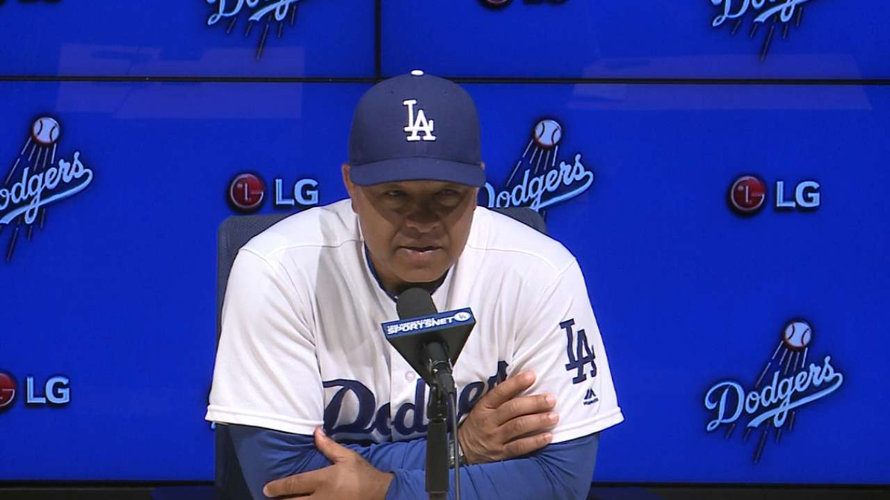 Roberts on extra-inning loss