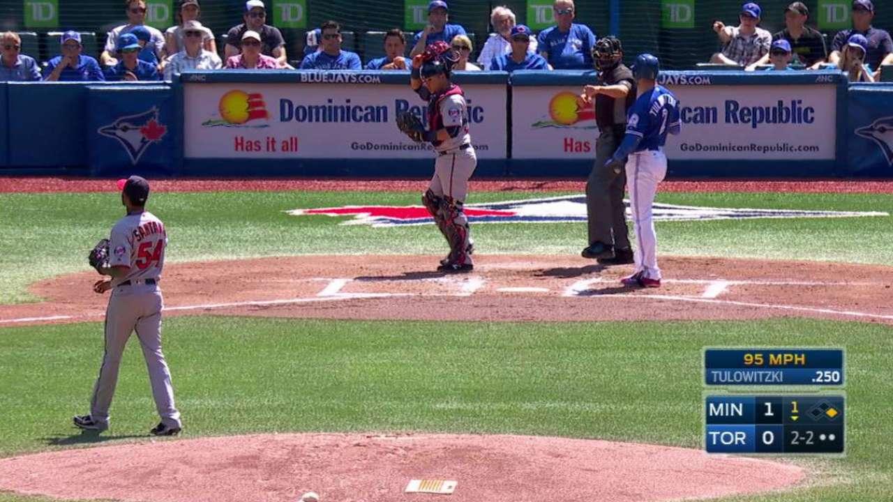 Santana gives up season-high 6 runs as gem unravels