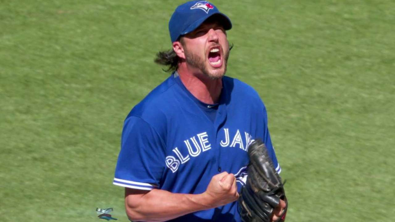 Grilli goes nuts after strikeout