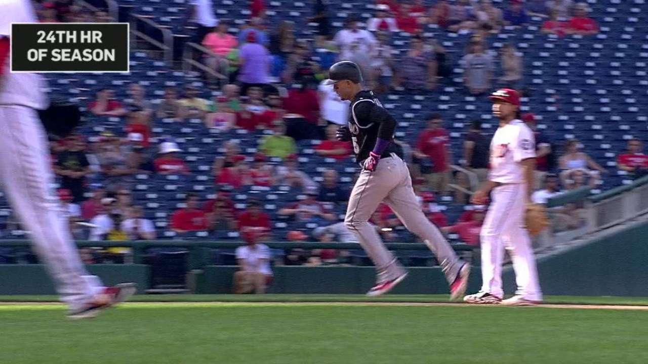 CarGo's 200th career home run