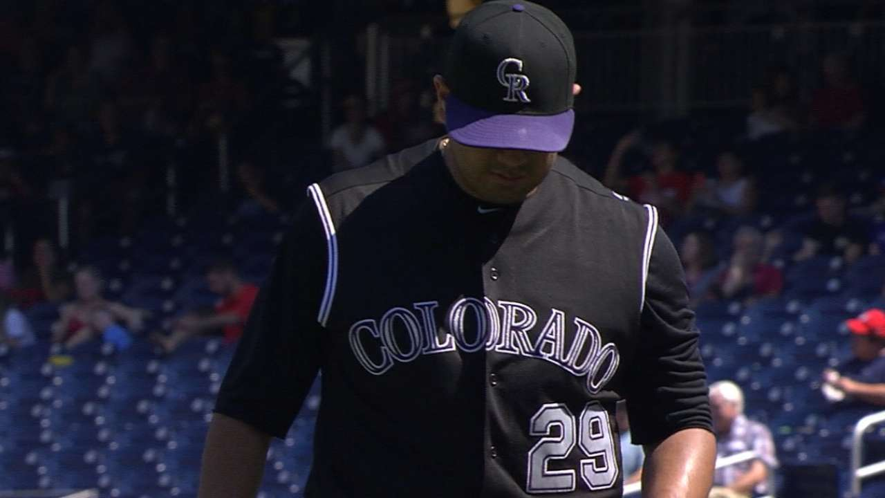 De La Rosa, Rockies open weekend set vs. Ray, D-backs