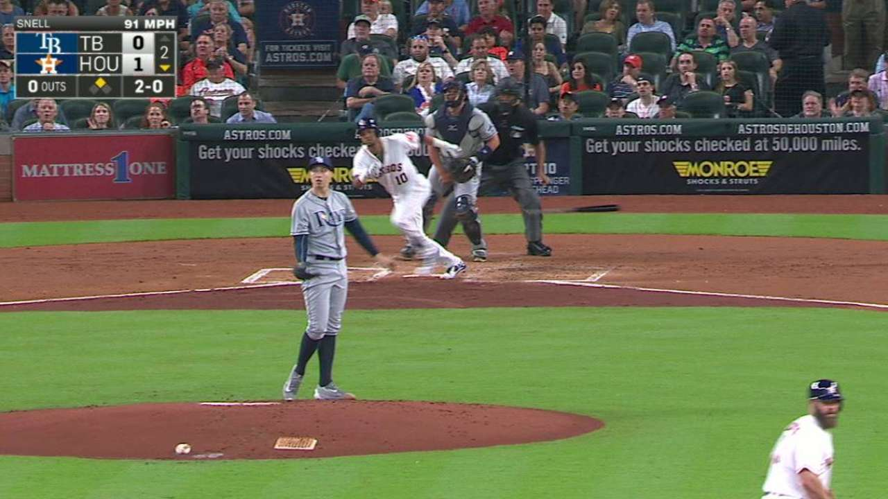 Astros give hot-hitting Gurriel first start at first