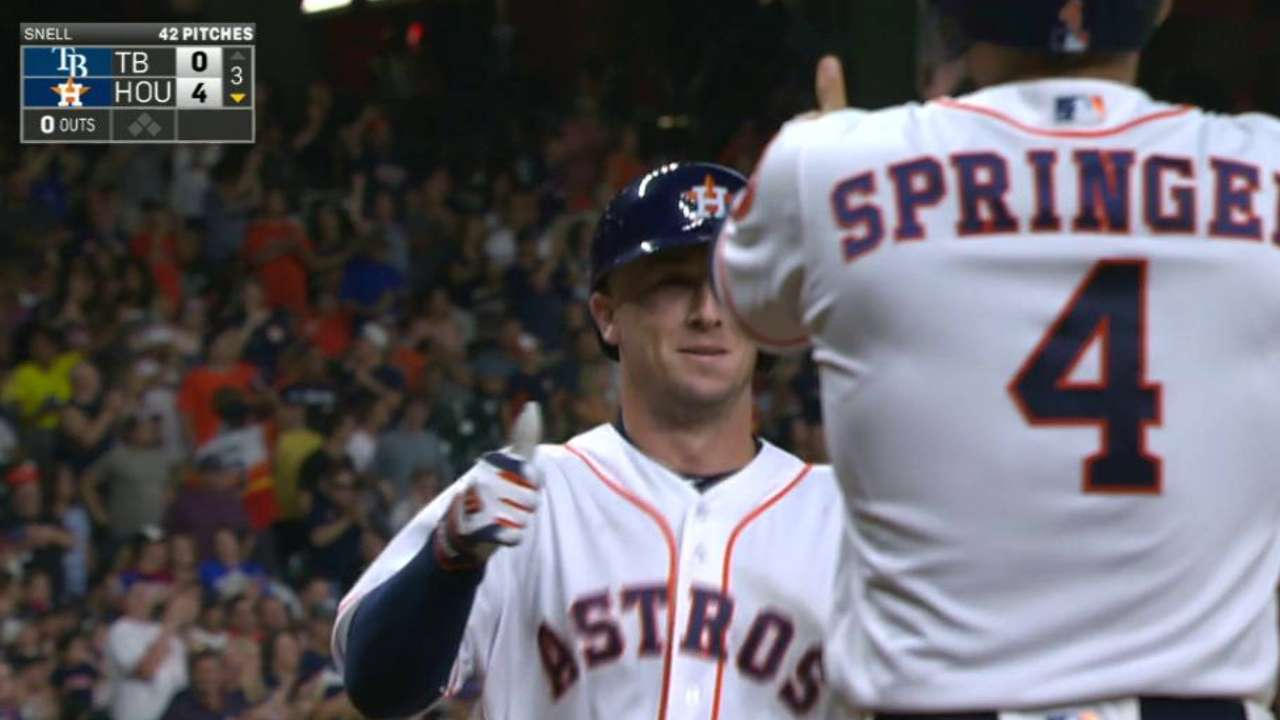 Bregman erases errors with big night at plate