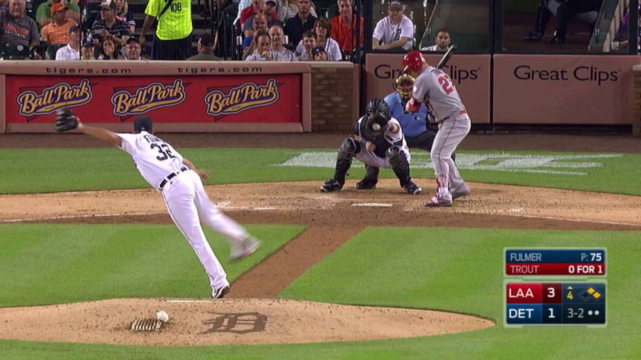 Fulmer freezes Trout in 4th