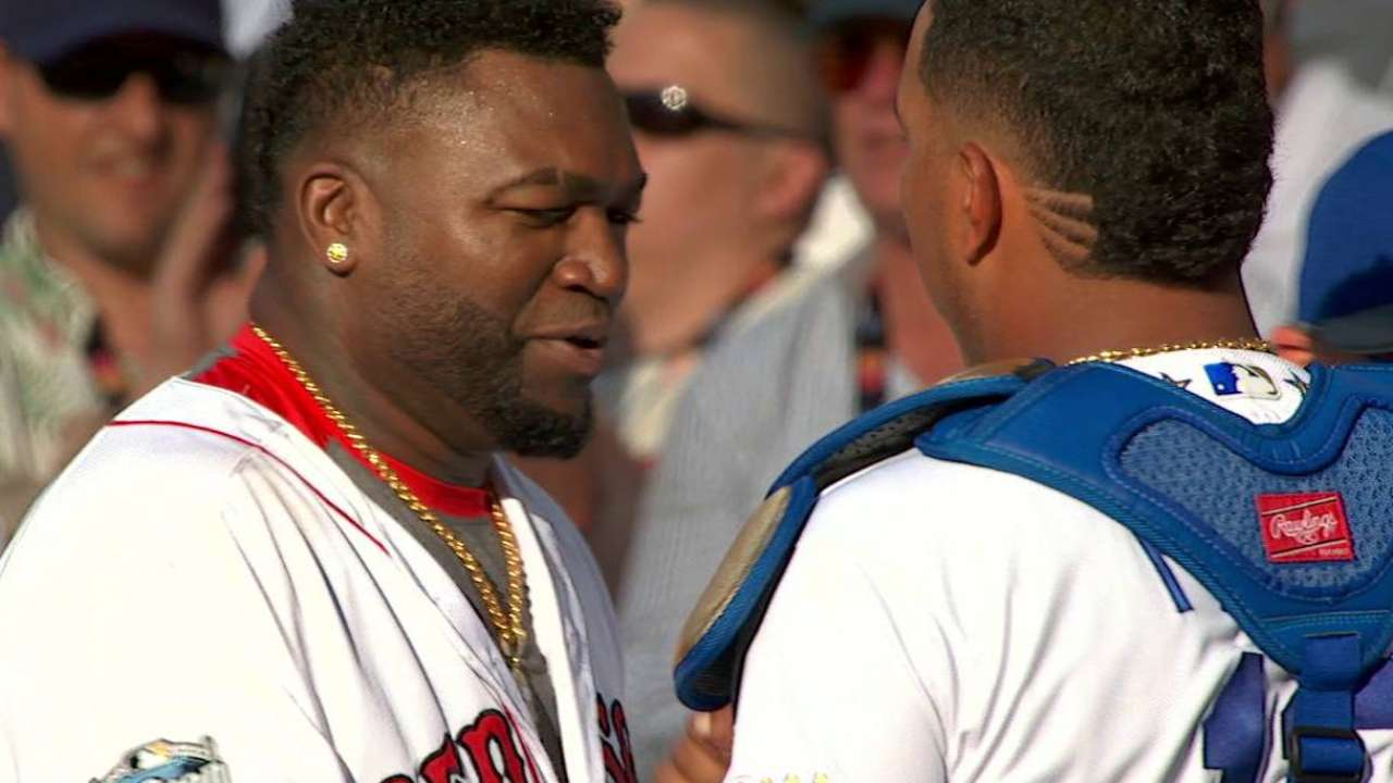 Papi on respect for Royals