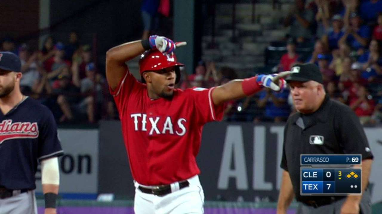 Andrus' two-run double