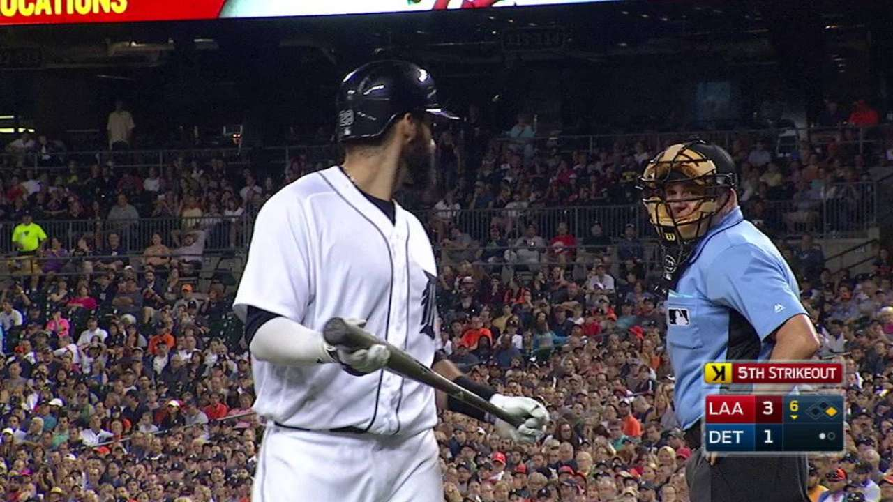J.D. Martinez's ejection in 6th