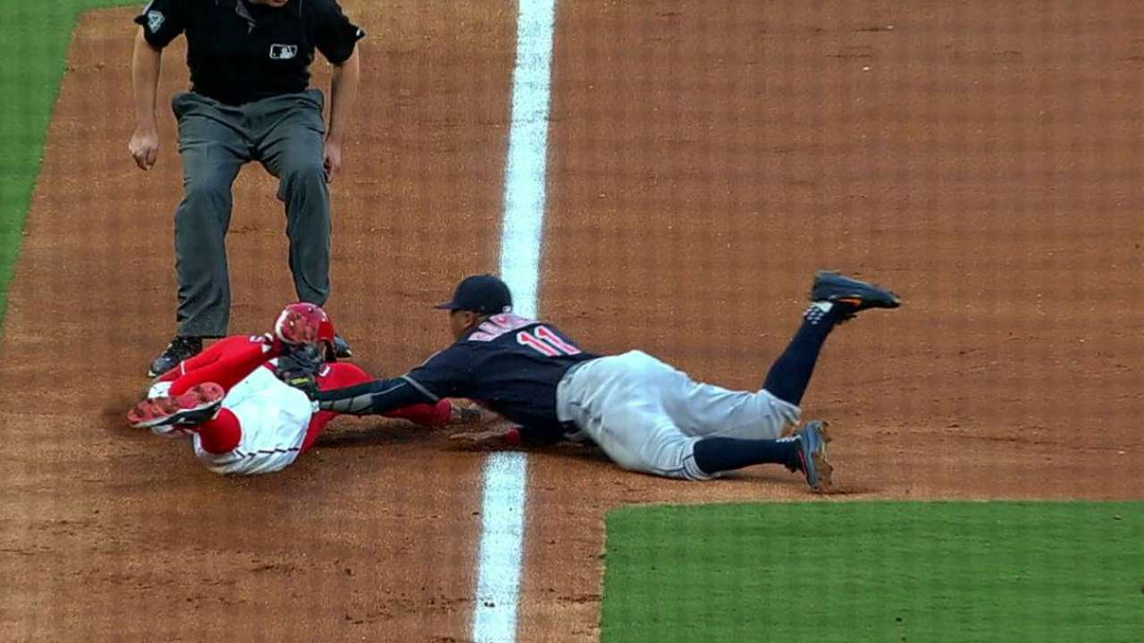 Desmond's nifty slide