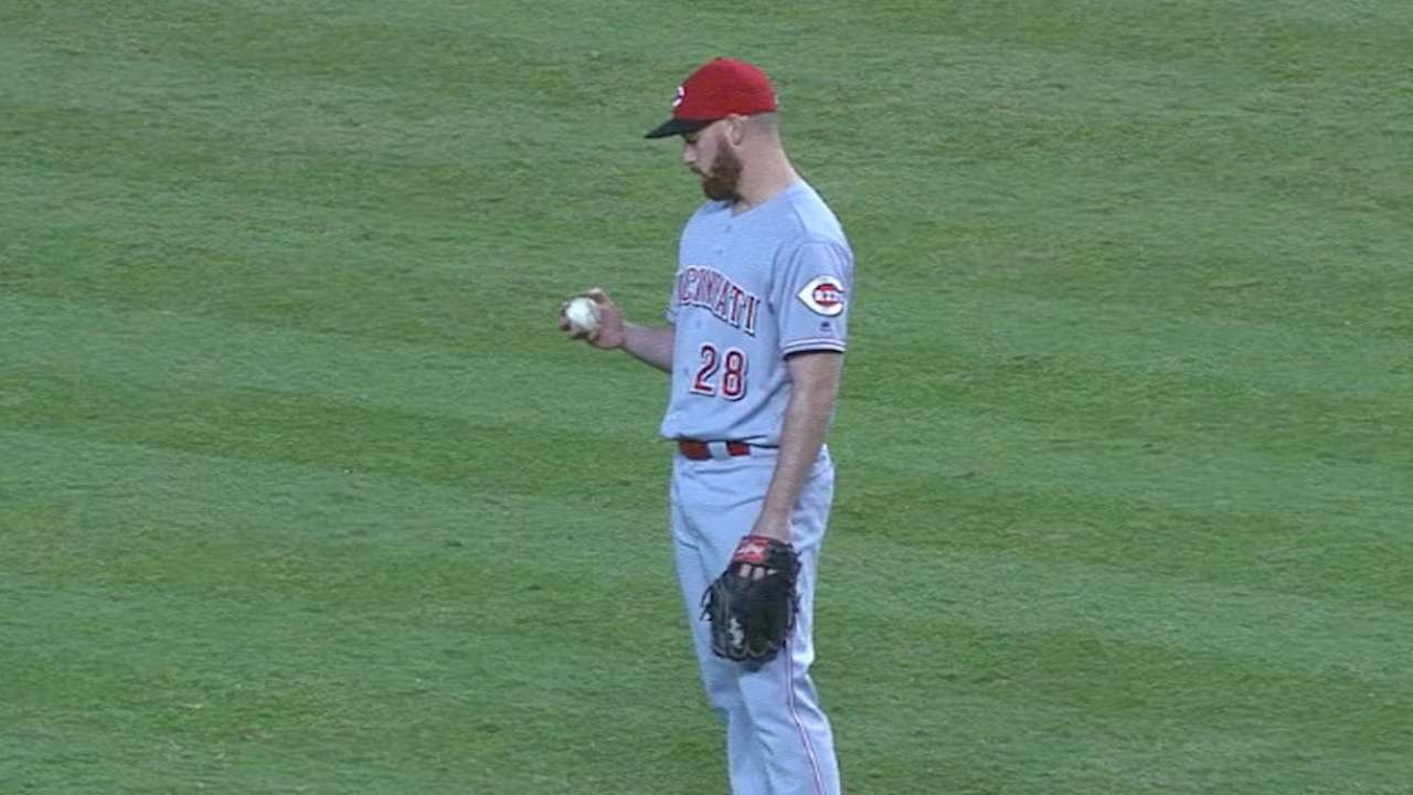 DeSclafani's first MLB shutout