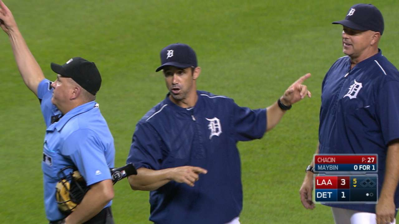 Four Tigers ejected in loss