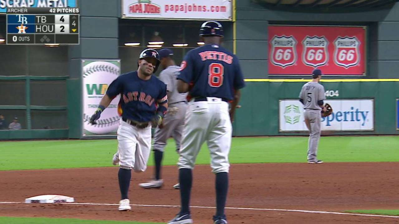 'Pen, defense shaky as Astros cede WC ground