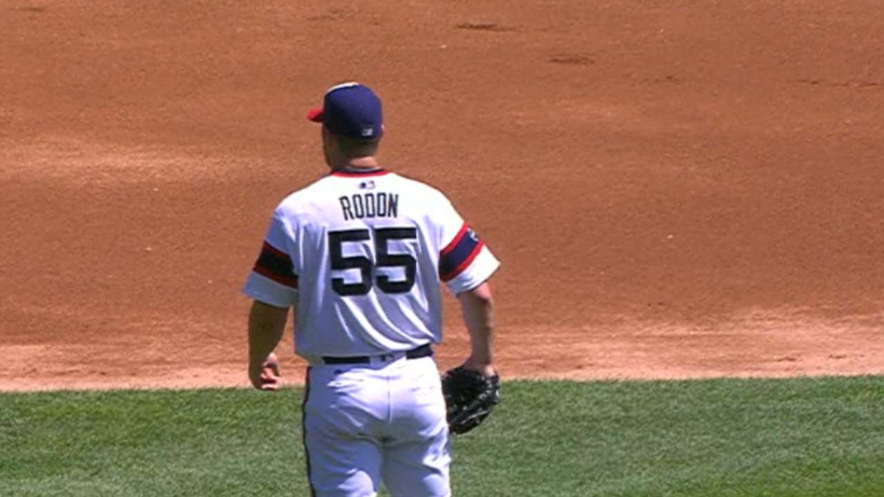 Rodon rolls on to lead White Sox over M's