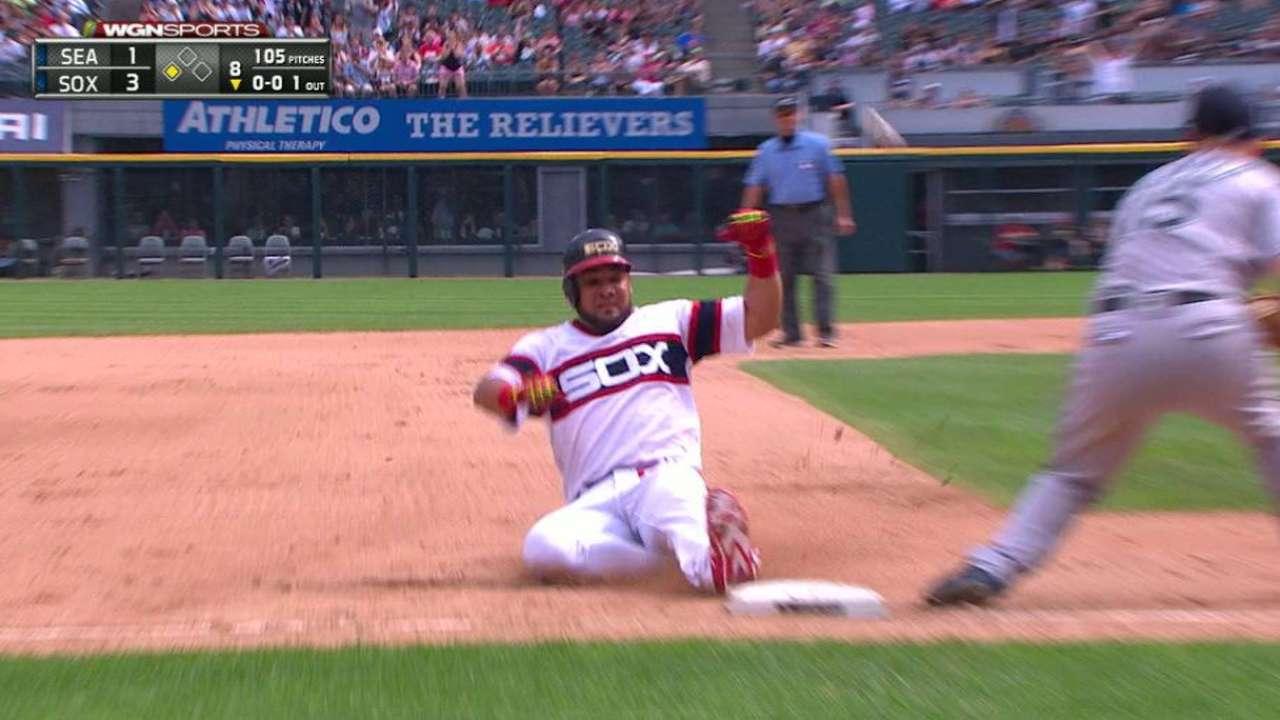 Cabrera's RBI triple