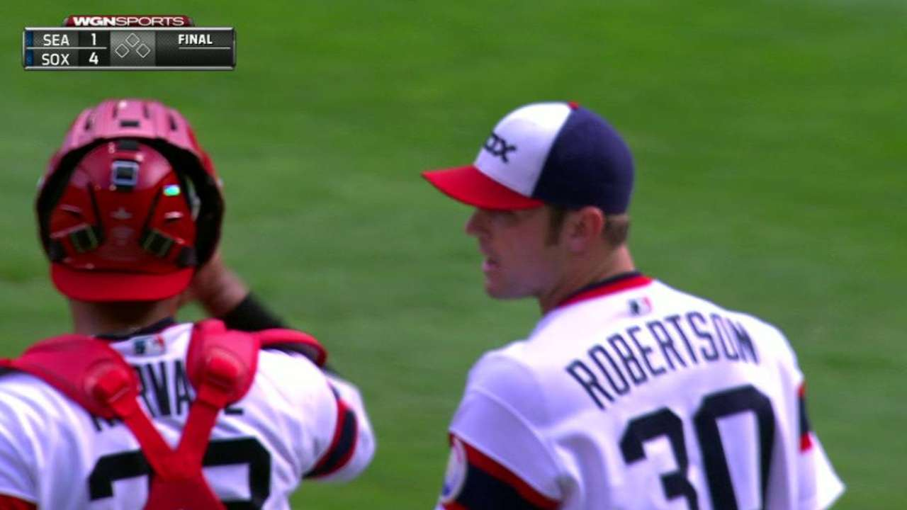 Robertson locks down 33rd save