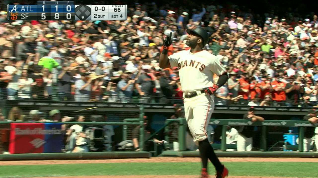 Giants hope to have healthy lineup for stretch run