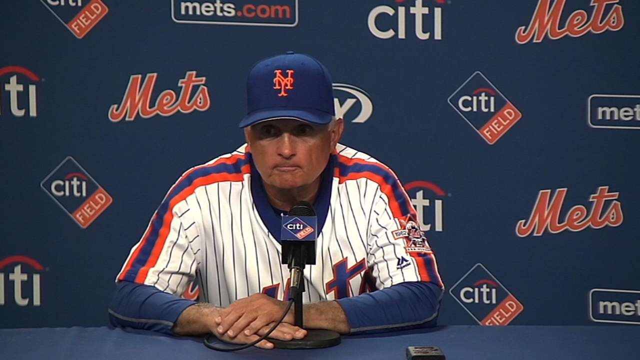 Collins on loss to Phillies