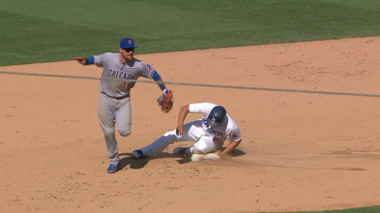 LA 'Vins' by a toenail; Cubs' W not meant 2B
