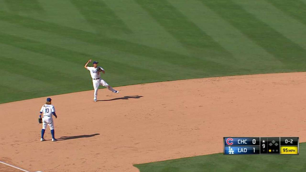Seager's fine defensive play