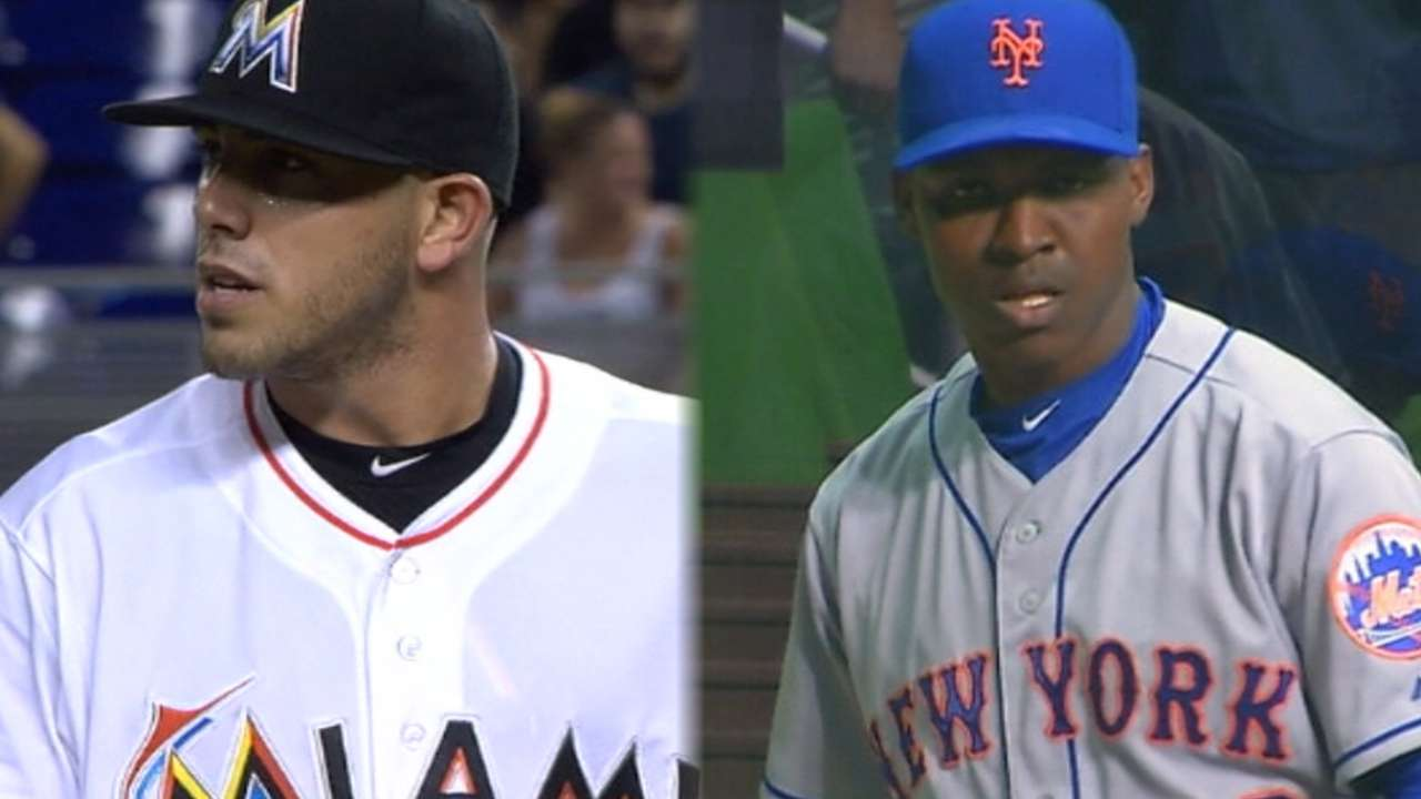 Marlins, Mets clash in Big Apple
