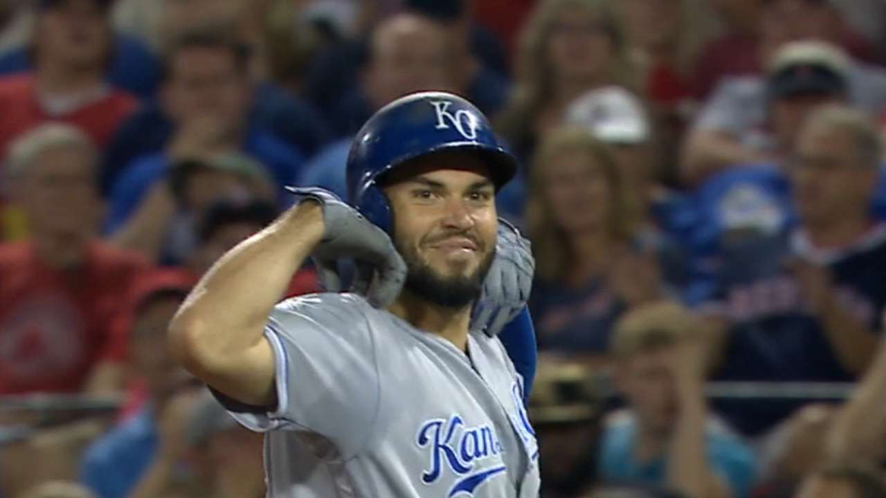 Royals' eight-run 6th inning