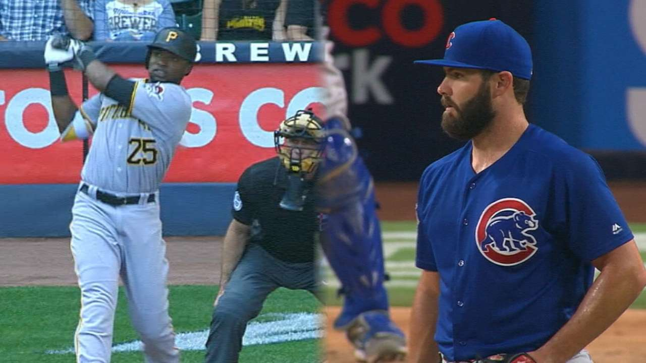 Pirates, Cubs set to square off
