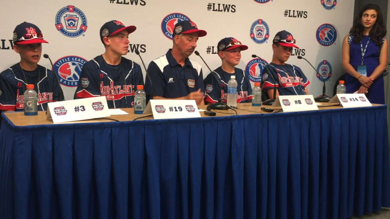 Maine-Endwell wins LLWS 2-1