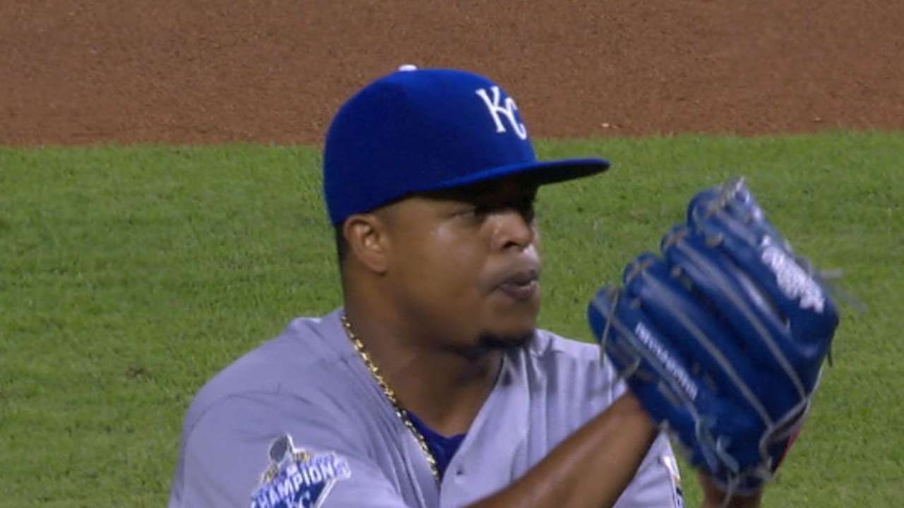 Volquez's solid outing