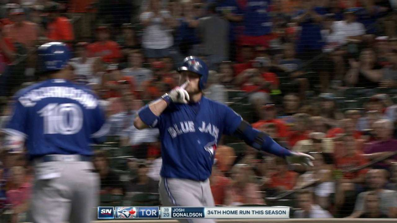 Donaldson's 34th home run