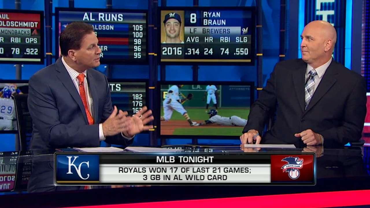 MLB Tonight: AL Wild Card race