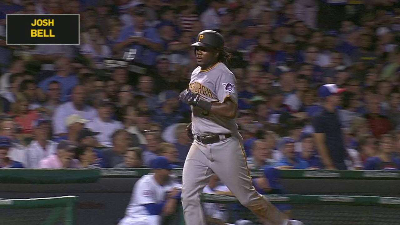 Bell's solo home run
