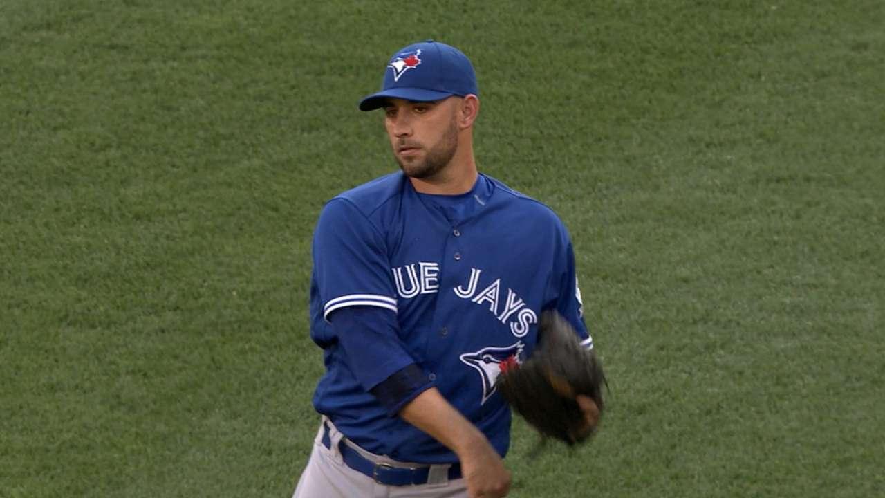 Estrada like 'old self' in big start for Toronto
