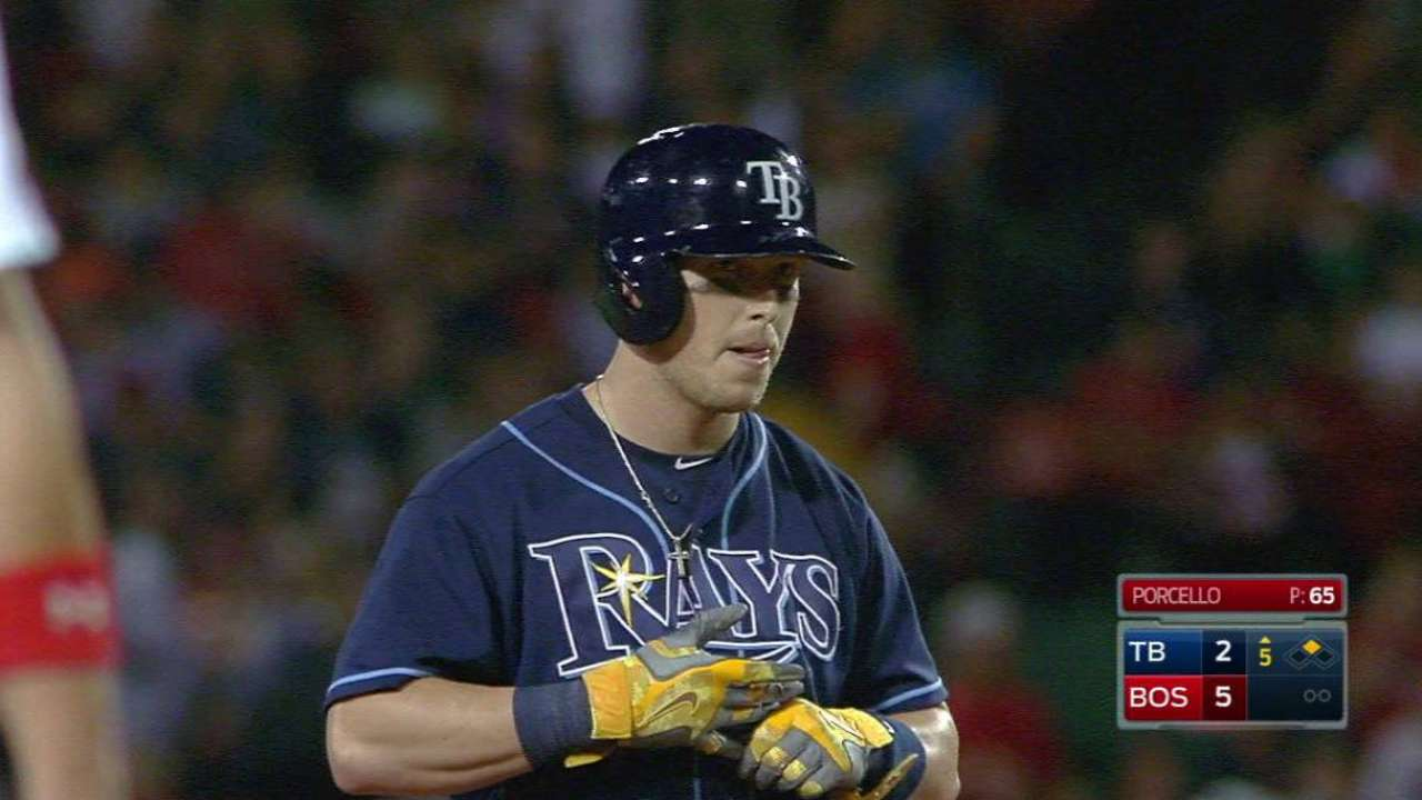 Dickerson's 28th double of year
